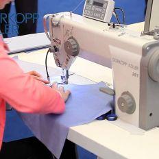 Single Needle Lock Stitch Machine