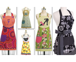 Dyed & Printed Aprons