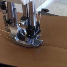 Double Needle Lock Safety Machine
