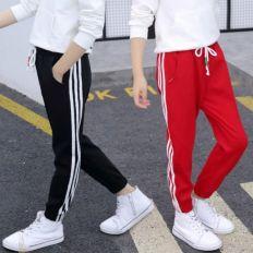 Strip pull on Pants