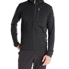 Fleece Zip Front Hooded Top